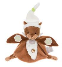Doudou luminescent Marmotte blanc marron flocon HO2500 HO Studio Histoire d'Ours