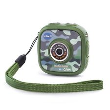 Vtech Kidizoom Action Cam Color LCD,Camouflage with All Weather Case and mounts