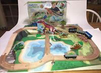 Imaginarium Express Wooden Dino Train Set Toys R Us 2015 Thomas Brio Compatible