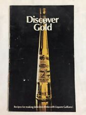 Discover Gold Recipes for Making Delicious Drinks with Galliano Liqueur