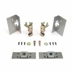 Small Locking Cat Jaw Claw Door Latches w/ Installation Kit Bear Type Grip Latch
