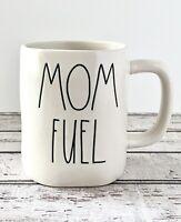 "Rae Dunn ""MOM FUEL"" Matte White Ceramic Mug by Magenta~Artisan Collection"