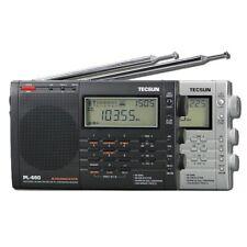 Tecsun PL-660 Digital PLL AM FM SW LW SSB Air Band Radio Receiver Black/Silver
