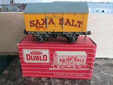 HORNBY DUBLO 4665 SD6 SAXA SALT WAGON BOXED
