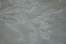 Medium Weight Beige Damask.  4 Yds. Available. FREE SHIPPING.