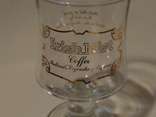 Liquor Stem Glass ~*~ IRISH MIST Coffee ~ IRELAND'S Legendary Liqueur Since 1947