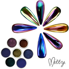 Mitty Nail Art Super Chrome Powder Pigments