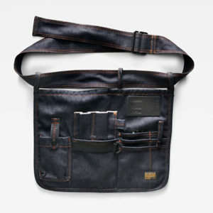 G-Star Toolbelt 'USTRA TOOLBELT' Selvedge Raw Denim - Tools to Brushes to Makeup