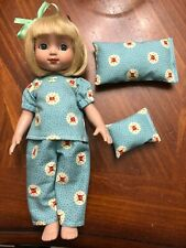 "Handmade pajamas for 10"" Ann Estelle, Patsy Tonner. Mary Engelbreit fabric"