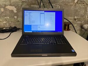 "Dell Precision M6800 17"" Laptop i7-4940MX 3.1Ghz 16GB 3xHDD Radeon HD 8950"