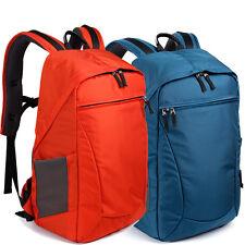 """Men Women Waterproof DSLR SLR Camera Backpack 14"""" Laptop Bag + Padded Insert New"""