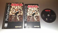Resident Evil Long Box ☆☆ Complete w/ Manual ☆☆ - PS1 Playstation 1 Longbox