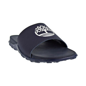 Timberland Fells Men's Slide Sandals Navy-White TB0A1XAP