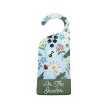 """Gisela Graham Kitchen Garden Flower & Berry """"In the Garden"""" Door Hanger 8x22cm"""