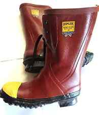Ranger 6147  Servus  Safety STEEL TOE Mid Pac boot 6 7 8 USA MADE  FLEECE LINED