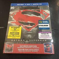 Batman v Superman Blu-ray Steelbook | DC Comic | Best Buy exclusive | NEW sealed