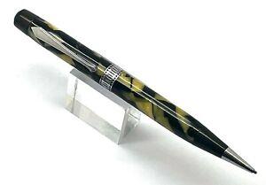 Antique Waterman Patrician Black  & Pearl Celluloid Pencil, USA (WGP162)