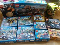 NEW LEGO POWER MINERS 8958 BIONICLE, HERO FACTORY CITY ATLANTIS. CHOOSE 1 U WANT