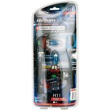 Set 2 Lamparas H11 12V 100W HELIUM QUARTZ RACE SPORT 5500K  BLANCO INTENSO