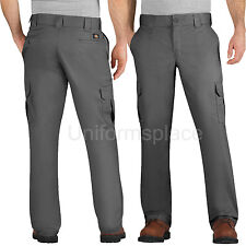 Mens Dickies Work Pants Regular Fit Straight Leg Cargo Pockets Pant WP595 Colors