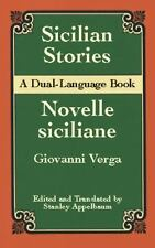 Sicilian Stories: A Dual-Language Book (Dover Dual Language Italian) by Verga,