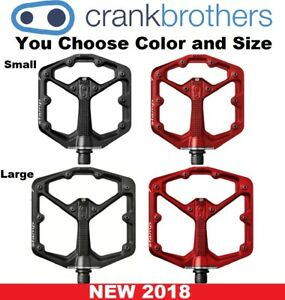 Crank Brothers NEW Stamp 7 Size & Color Bike Downhill Platform MTB Flat Pedals