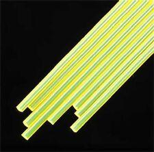 Plastruct 3/32 Yellow Fluorescent Acrylic Rods (8) 90282 x