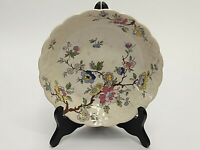 """VINTAGE BOOTHS CHINESE TREE BOWL MADE IN ENGLAND 7.5"""" ACROSS X 1.25"""" TALL"""