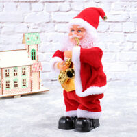 Dancing Singing Santa Claus Christmas Toy Doll Battery Operated Musical Moving