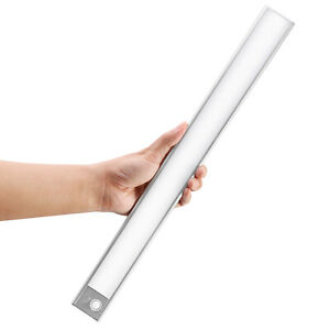 PIR Motion Sensor LED Strip Light USB Powered Stairs Cabinet Closet Home Lamp