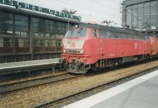 foto CA.10x15CM diesellok 218 460-4 im BHF zoologischer garten Berlin (G4045)