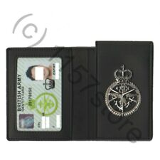 British Army MOD90 ID Identity Card Leather Wallet Holder Military UK RAF NAVY