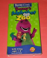Barney - Barney's Alphabet Zoo VHS Rare Video Tape Classic Collection 1994