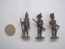 Maxi Kinder ancien en métal Metallfiguren série 3 figurines Die goldene Garde