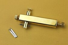 Violin making tools, brass purfling groove knife, Luthier tools