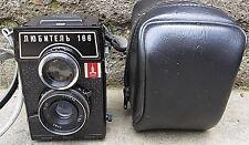 FOTOCAMERA SOVIETICA LOMO  LUBITEL -166  6X6  PELLICOLA 120 FUNZIONANTE