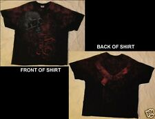 BULLET FOR MY VALENTINE Size XXL Black with Red T-Shirt