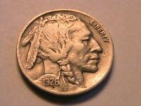 1926-P Buffalo Nickel Ch VF Very Fine Nice Original Indian Head 5 Cent US Coin