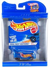 Hot Wheels 30 Years Commemorative 1996 Phil's VW Bus NIB 1998