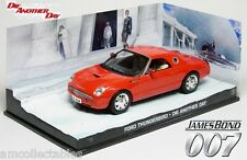 James Bond 007 la Another Day-FORD THUNDERBIRD - 1:43 Diecast Modello Nuovo/Scatola Originale