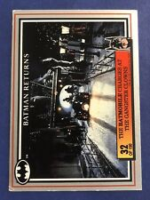 1992 Batman Returns Dynamic DC Comics Card #32 The Batmobile