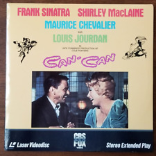 LASERDISC Movie: CAN-CAN - Frank Sinatra - Collectible Cole Porter Musical