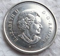 3 Varieties Set Canada 2006 5 Cent Coins.