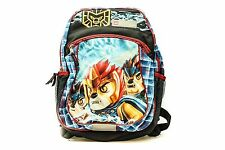 NEW LEGO LEGENDS OF CHIMA GRAPHIC KIDS BACKPACK SCHOOL BAG BOOKS CARRYING CASE