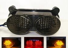 Tail Turn Signals Light Smoke Fit KAWASAKI Ninja ZX6R 1998-2002 / ZX9R 1998-2003