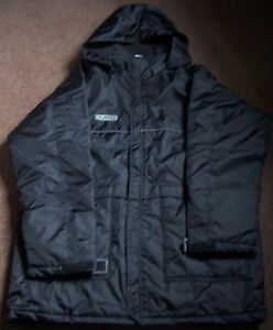 ERREA QUILTED COACHES JACKET 3XL-RUGBY/SOCCER-BLACK