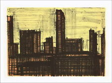 Bernard BUFFET - Lithographie : New York X - Mourlot 1967