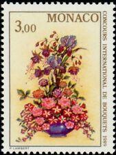 "MONACO N° 1660 ""BOUQUETS, FUCHSIAS, IRIS, ROSES ET PETUNIAS""xxTTB"
