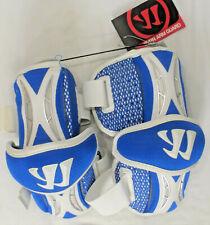"WARRIOR ""Burn"" Lacrosse Arm Guards, Royal Blue, Adult Size Medium, NWT"