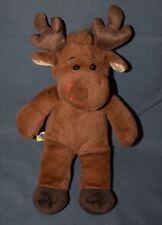 "Build A Bear Workshop Hal Moose Christmas Stuffed Mini Plush 11"" BABW BAB"